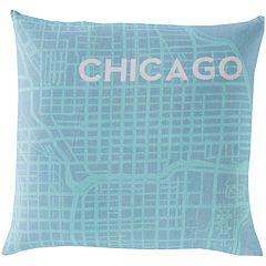 Artisan Weaver Cities Decorative Pillow