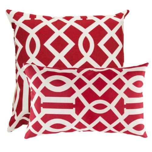Artisan Weaver Berlin Outdoor Decorative Pillow