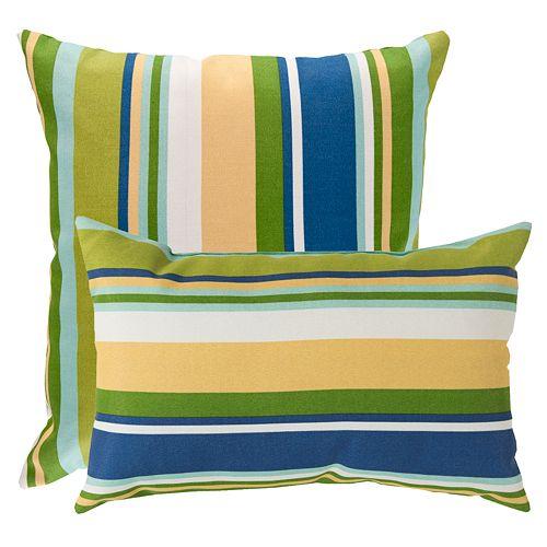 Artisan Weaver Beverly Outdoor Decorative Pillow