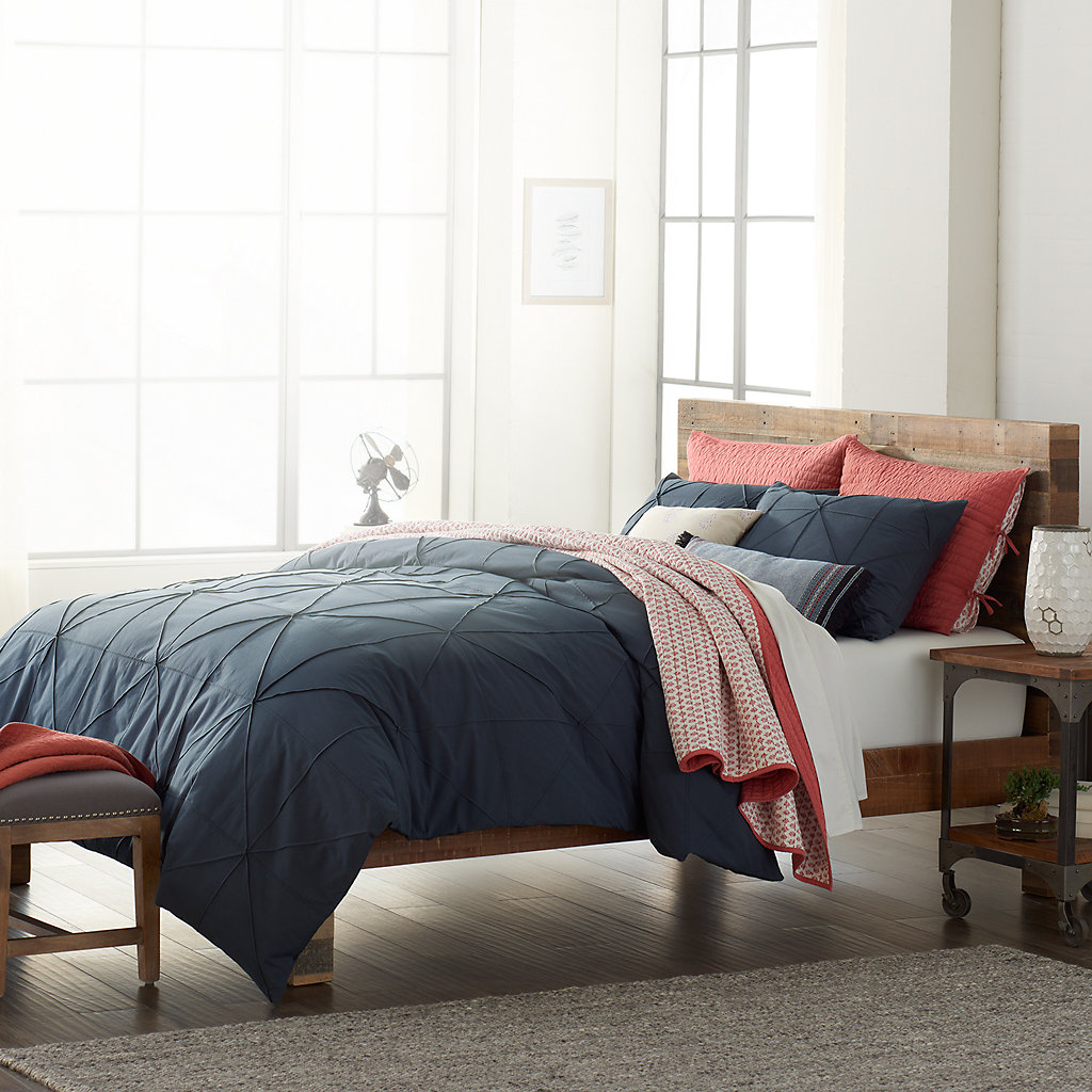 SONOMA Goods for Life™ Hadley Diamond Pleat Duvet Cover Collection