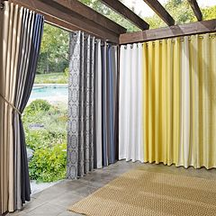 Sun Zero UV Blocking Indoor / Outdoor Woven Window Treatments