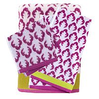 Fiesta Jacobean Bath Towels