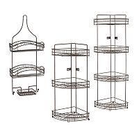 Bath Bliss Shower Rack Collection