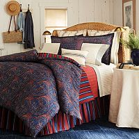 Chaps Indigo Isle Duvet Collection