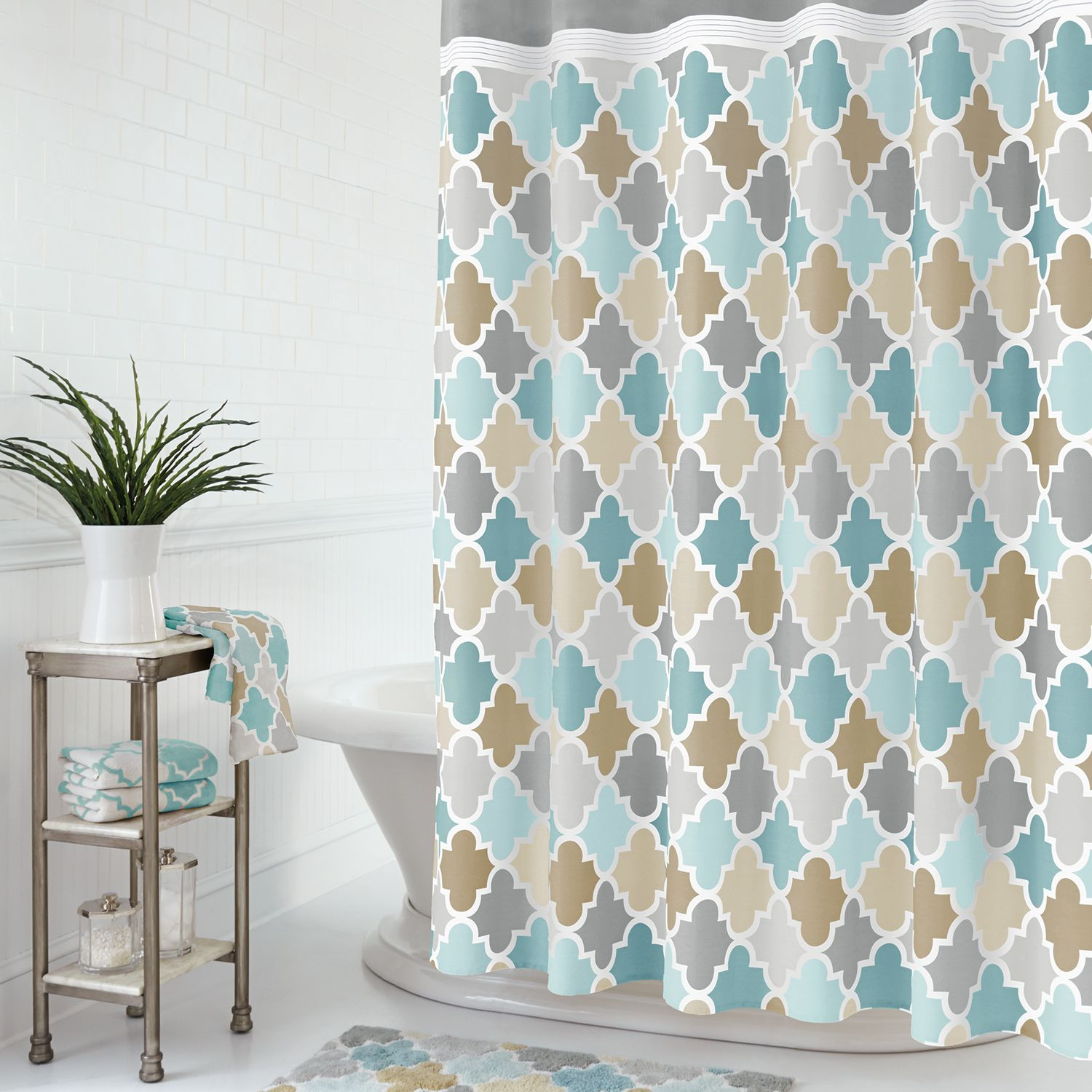 Charming Julius Shower Curtain Collection