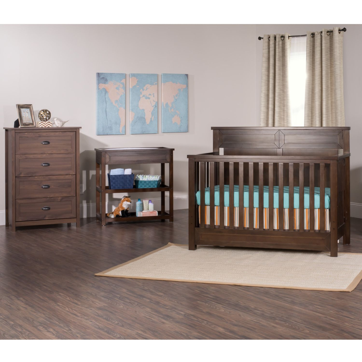 Child Craft Abbott Nursery Furniture Coordinates