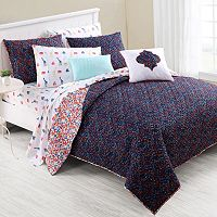 VCNY Inspire Me Mix & Match Flirt Quilt Collection