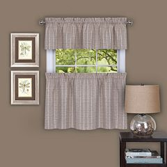 Achim Sydney Tier Kitchen Window Curtains