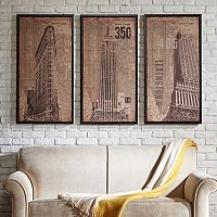 INK + IVY On New York Streets Framed Wall Art Collection