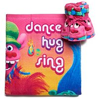DreamWorks Trolls Hair Hugfest Bath Towel Collection