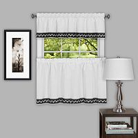 Achim Camden Tier Kitchen Window Curtains