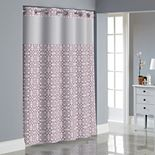 Hookless Medallion Shower Curtain Collection