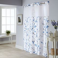 Hookless Shower Curtains Shower Curtains & Accessories - Bathroom ...