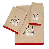 Avanti Snowman Bath Towel Collection