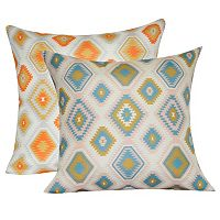 Loom and Mill Diamond I Geometric Throw Pillow