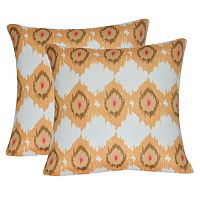 Loom and Mill Gold Circles Throw Pillow