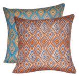 Loom and Mill Diamond II Geometric Throw Pillow