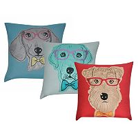 Loom and Mill Doggie Throw Pillow