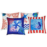 Loom and Mill Sea Life Throw Pillow
