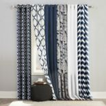 The Big One® 2-pack Navy Window Curtain Collection