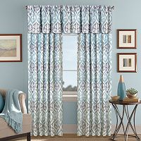 Colordrift Tempest Printed Room Darkening Window Treatments