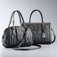 Simply Vera Vera Wang Ruched Handbag Collection