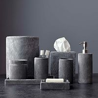 Kassatex Mesh Bathroom Accessory Collection