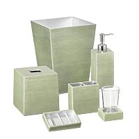 Mike & Ally Venetian Hand Enameled Bathroom Accessories Collection