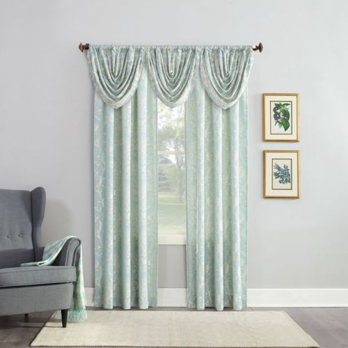 No918 Armand Jacquard Damask Window Treatment Collection