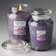 Yankee Candle simply home Lilac Petals Jar Candles