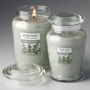 Yankee Candle simply home Fresh Eucalyptus Jar Candles