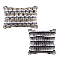 Madison Park Stripe Woven Throw Pillow Collection