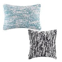 Madison Park Heathered Woven Throw Pillow Collection