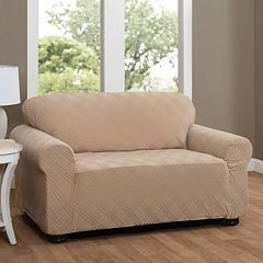 Stretch Sensation Double Diamond Stretch Furniture Cover Collection