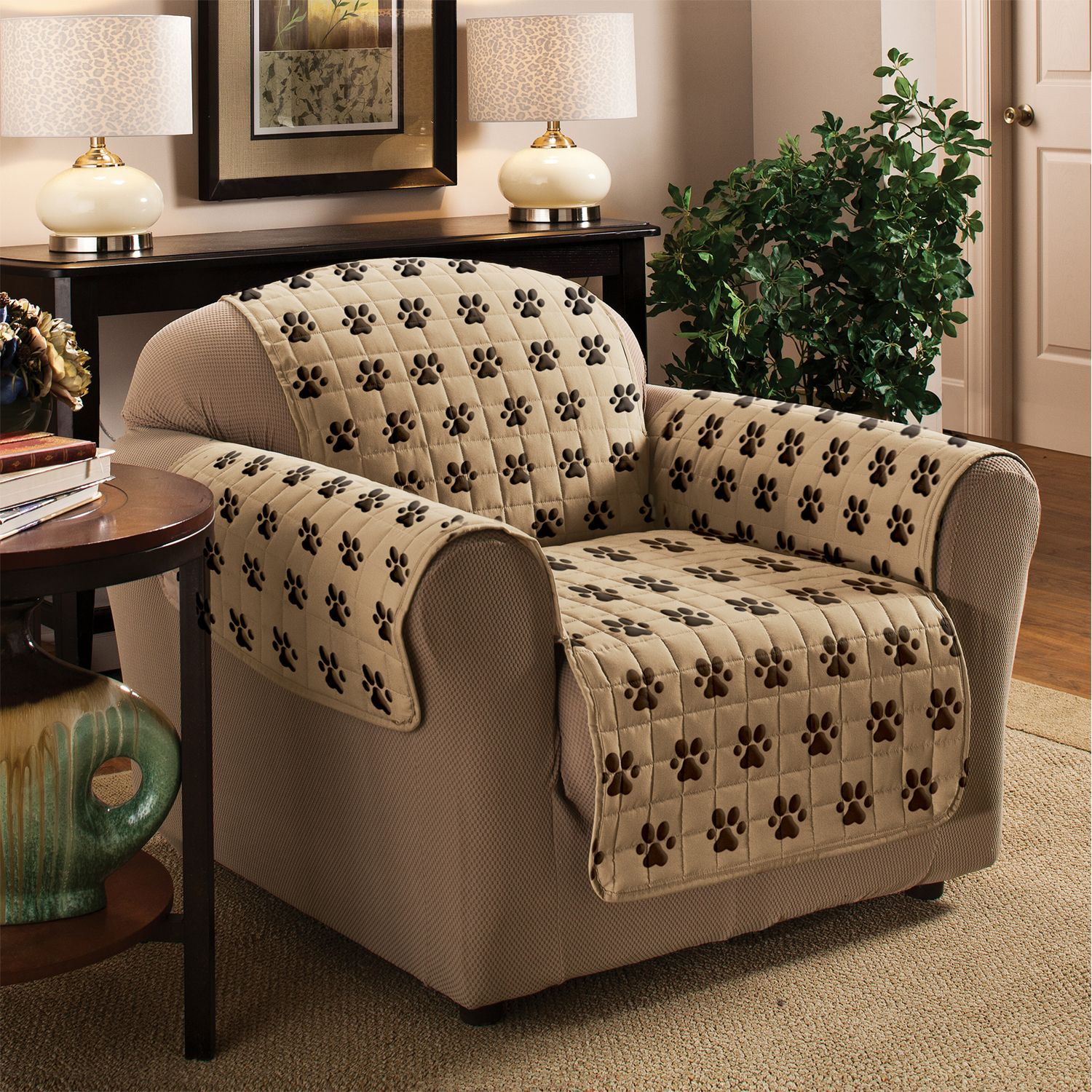 Chiara Rose Shield Futon Couch Pet Cover Sofa Smoke Pattern Couch