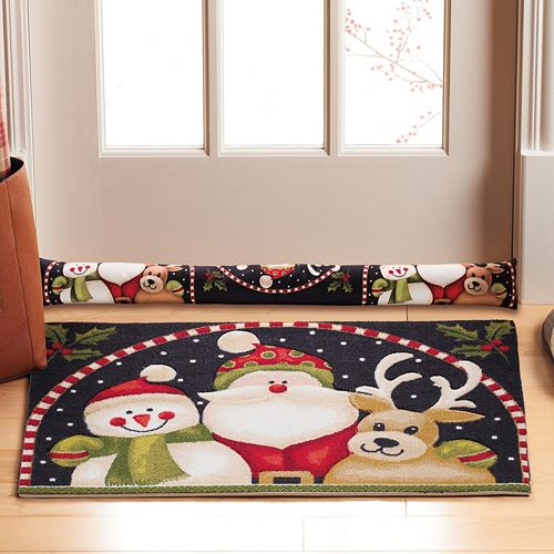Natco Snowy Pals Rug & Draft Dodger Collection