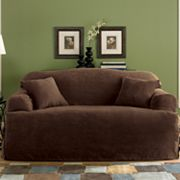 Sure Fit Faux-Suede T-Cushion Slipcover Collection