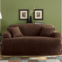 <p><strong>Sure Fit&trade; Faux-Suede T-Cushion Slipcover Collection</strong></p>