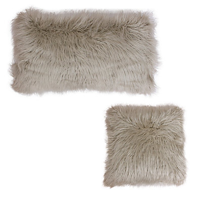 Thro by Marlo Lorenz Keller Faux-Fur Throw Pillow Collection