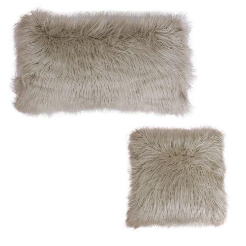 Thro by Marlo Lorenz Keller Faux-Fur Throw Pillow Collection