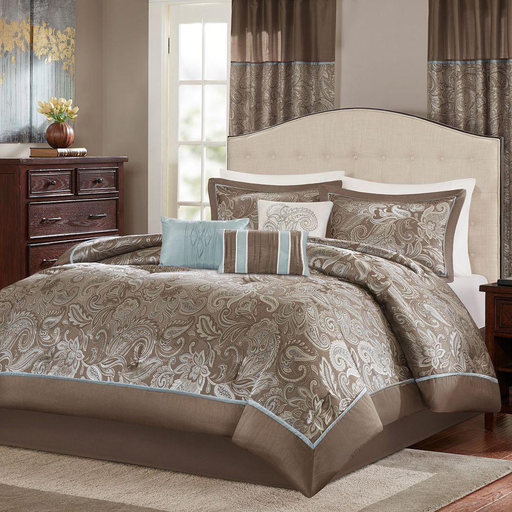set queen comforter madison park products d hsn samara