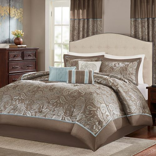 quilt dp queen madison com piece quilts aqua paige comforter kitchen park home amazon set