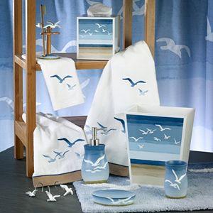 Avanti Seagulls Shower Curtain Collection