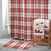 Avanti Hunter Plaid Shower Curtain Collection