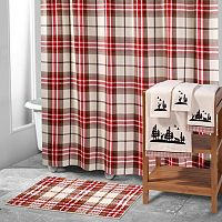 Avanti Hunter Plaid Shower Curtain Collection