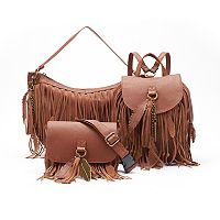 Mudd® Fringe Handbag Collection
