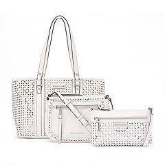 Dana Buchman Perforated Handbag Collection