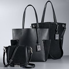 Simply Vera Vera Wang Touch of Suede Handbag Collection