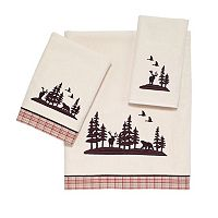 Avanti Hunter Plaid Bath Towel Collection