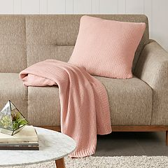 INK+IVY Bree Knit Throw Pillow Cover Collection